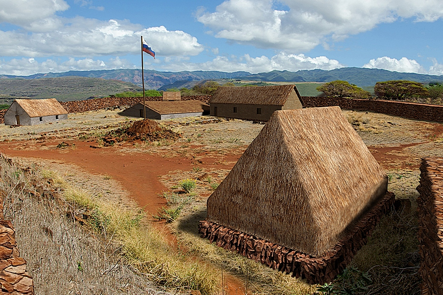hawaii russian fort